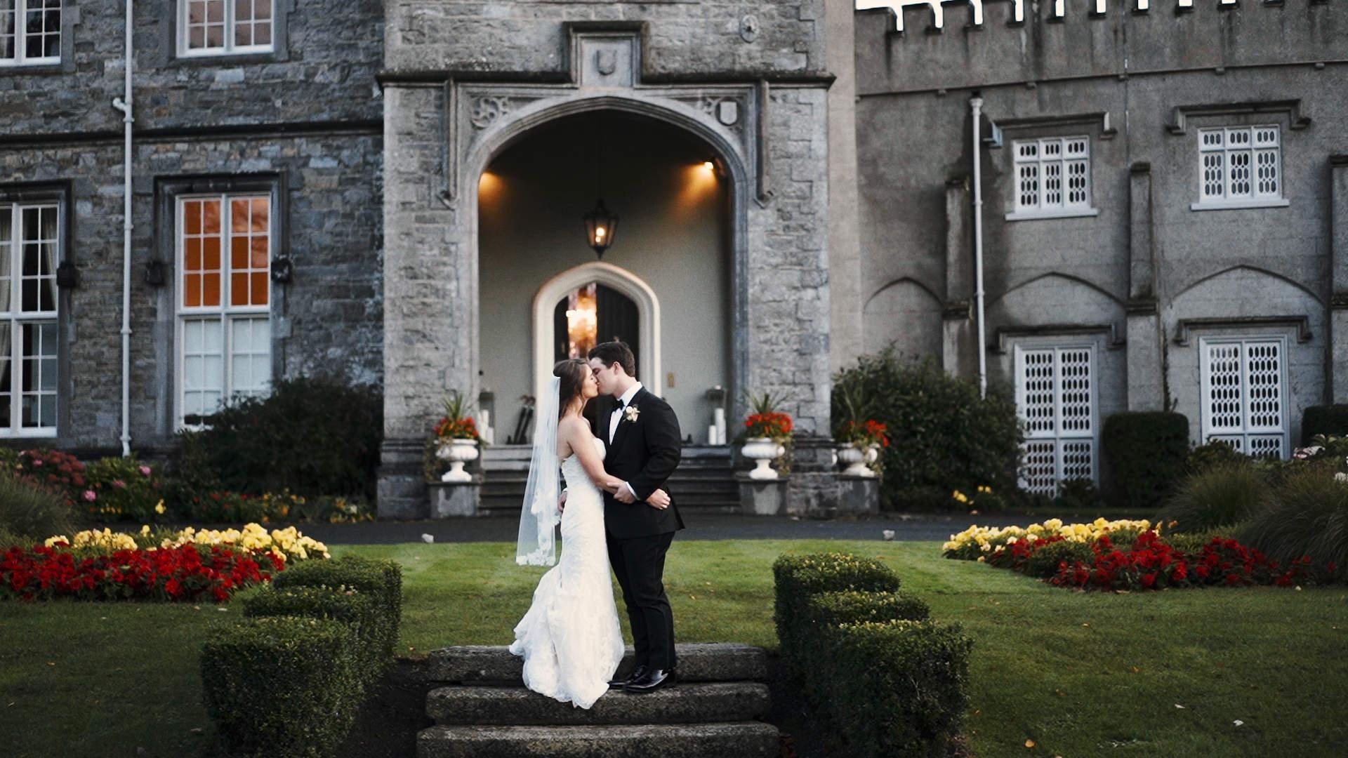 wedding videographer luttrellstown castle